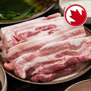 돼지삼겹살 캐나다산  100 g