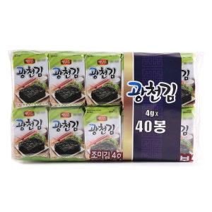 광천김 4gx40봉