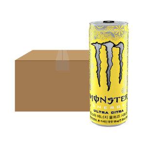 [해태음료] 몬스터 에너지 시트라 355ml x 24캔
