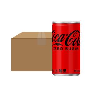 [코카콜라] 코카콜라제로 190ml 30CAN 1박스