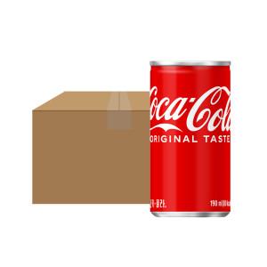 코카콜라 190ml x 30입(can)