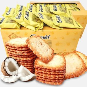 고멧 참깨/코코넛 비스켓 50봉x2박스