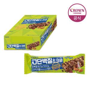 [크라운] 고단백질초코바 12개입