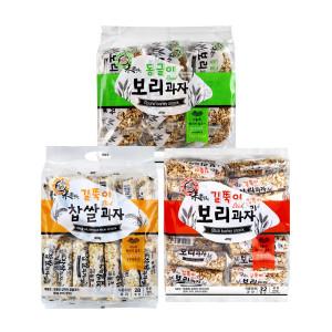 엉클팝 찹쌀/보리과자 3종