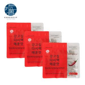 강고집 다시팩 매운맛 75g(5개입)x3팩