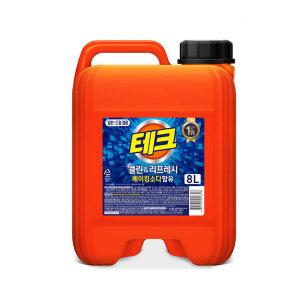 [8,340원]테크 액체세제 대용량 8L