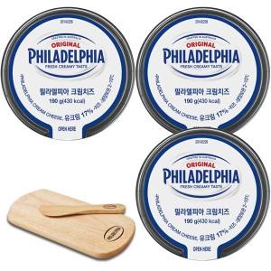 [필라델피아] 자연치즈99% 크림치즈 200gx5개: 달콤한 플레인~