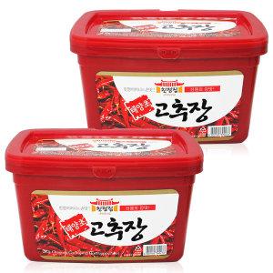 친정집 태양초 고추장 3kgx2통/된장/쌈장/찰고추장
