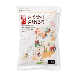 유명산지 혼합곡3KG 봉