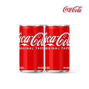 [코카콜라] 코카콜라 190ml 30캔/탄산음료/콜라
