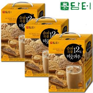 [담터] 담터 슈퍼곡물12곡 미숫가루 60T+콜드컵+벚꽃라떼20T