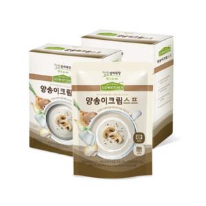 [상하목장] 상하목장 슬로우키친 간식 양송이크림 스프 150g 6팩