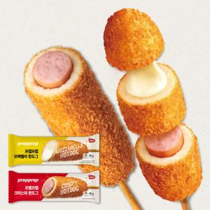 [김나운더키친] 김나운 크리스피 핫도그 오리지날 10팩+모짜렐라 10팩