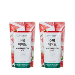 [카페베네] 수박 에이드 파우치음료 20개입
