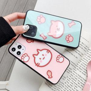 [1+1 SET구성] 핸드폰 강화유리 케이스