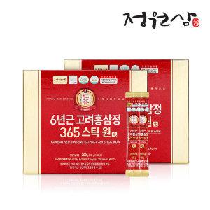 [정원삼] 6년근 고려홍삼정 365스틱 원(元) 2박스 60포 홍삼스틱