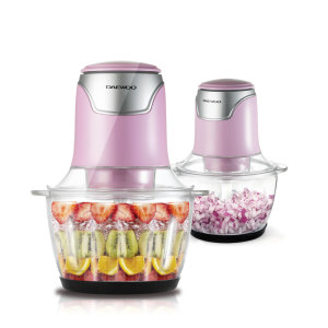 [대우] 대우 전동 다지기(핑크) 마늘 야채 이유식 믹서기