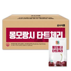 순수식품 몽모랑시 타트체리 주스 100포