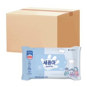 [LG생활건강] 세균아꼼짝마 ABY 손소독티슈 10매 30팩