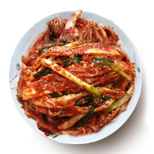 배추 겉절이김치 2kg /국산