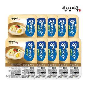밥상마루 쌀국수 92g 3종 10팩 /멸치/김치/얼큰