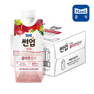 [매일유업] 썬업 콜라겐 플랜 음료 330ml 12팩