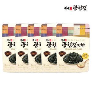 백제광천김 김자반 40g x 5봉