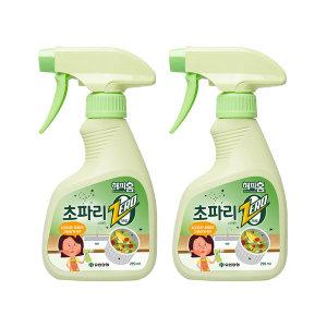 [유한양행] 해피홈 초파리제로 스프레이  290ml 2개