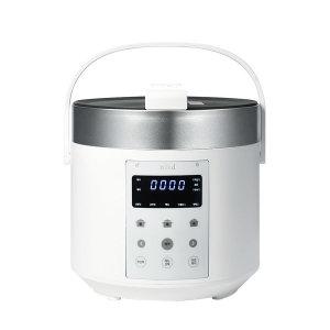 [니드] 니드 3인용 미니 소형 전기 압력 밥솥 NIID5 화이트