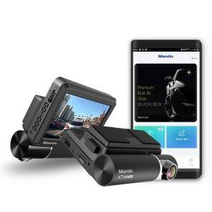 [만도] X7 블랙박스 무료장착 32G 2배저장 빌트인 WiFi 2년AS
