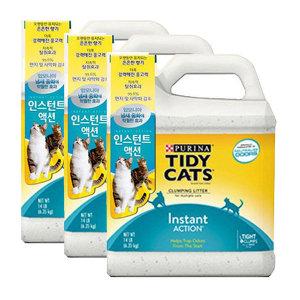 [퓨리나] 타이디캣 인스턴트 액션 6.35kg 고양이모래 3개