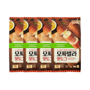 풀무원 모짜렐라 핫도그 5입X4봉(총20개)