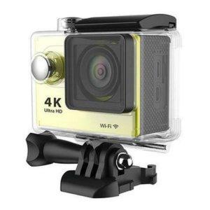 울트라HD 4K 1080P 와이파이 방수 액션캠  옐로우