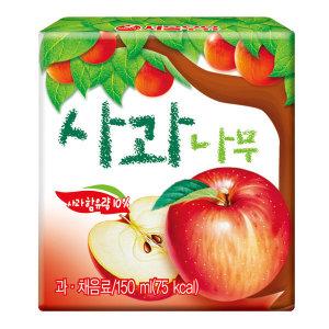 [서울우유] 서울 사과나무 150ml  X 48팩/주스/우유