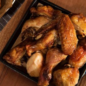 국산닭 캠핑/휴가지 간편식 구운치킨 500gx2