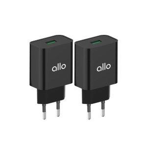 [알로코리아] 1+1 퀵차지 3.0 고속 급속 충전기 UC101QC 갤럭시 정품