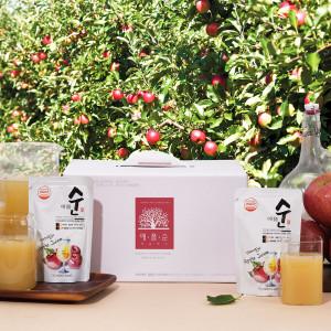 1+1 물 타지 않은 리얼 사과즙(30포+30포) 애플순