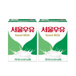 서울 흰우유 200ml x 48입