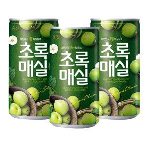 웅진 초록매실 30캔+12%