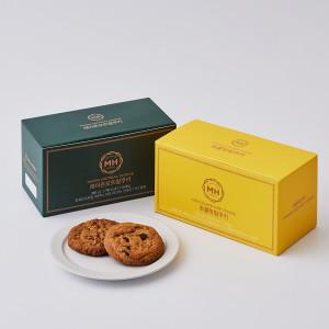 [신세계푸드] 밀크앤허니 쿠키 2종 (화이트마카다미아 초콜릿칩)