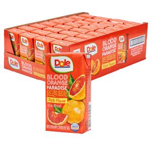 Dole 블러드 오렌지 120ml 32팩+사은품 2종