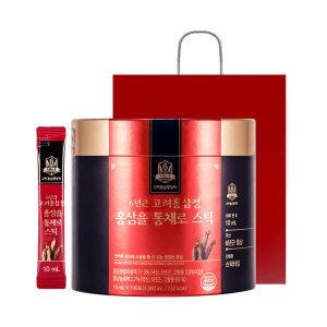 6년근 고려홍삼정 홍삼을 통채로스틱 100포