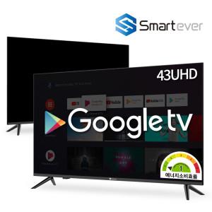 [혜택가 260,160원]43인치 UHD 구글 스마트TV