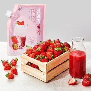 [복음자리] 복음자리 진심의 딸기청 1kg 과일청 딸기라떼 딸기주스