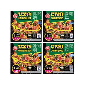 냉동 콤비네이션 피자 UNO 195gx2 X 4개
