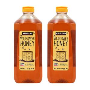 [커클랜드] 2개 Kirkland 코스트코 야생화 와일드플라워 꿀 허니 아르헨티나 A등급 2.27 kg