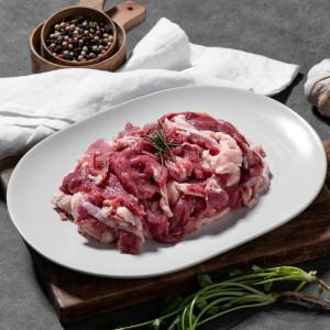 [15%] 유황먹인 생오리 슬라이스 1kg