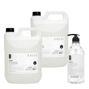 바른세탁소 주방세제 4L 2개 + 펌프용기증정