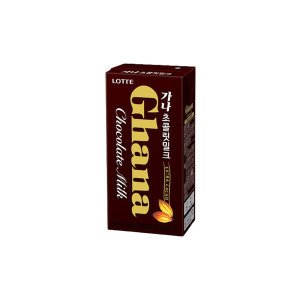 가나 초콜릿 우유 190ml x24팩
