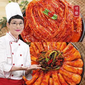 팽현숙 최양락의 포기김치 8kg+총각김치 2kg